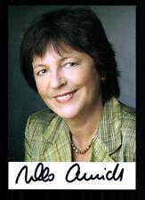 Ursula Schmidt AUTOGRAFO MAPPA ORIGINALE FIRMATO # BC 29599