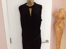 Ladies NEW PER UNA black jumpsuit, size 24.