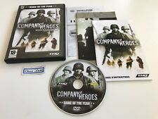 Company Of Heroes - Game Of The Year Edition GOTY - PC - FR - Avec Notice