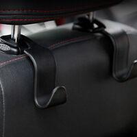 Universal Car Hanger Bag Organizer Hook Seat Headrest Holder Black Accessory YX