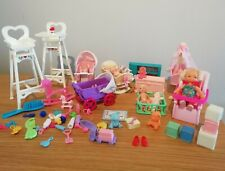 Vintage Barbie Baby Chrissie dolls and Accessories