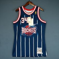 best cheap 4348e e7a3d Mitchell & Ness Hakeem Olajuwon Houston Rockets Sports Fan ...