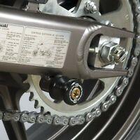 R&G Pair of Black Cotton Reels for Kawasaki Versys 650 2006