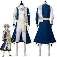 Natsu Dragneel Fairy Tail 3 Natsu Cosplay Costume from Fairy Tail New Season
