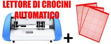Plotter da taglio 30 cm formato A3 desktop+ tappetino taglio + lettore crocini