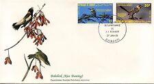 ENVELOPPE / BIRDS OF THE WORLD /  / FAUNE /  OISEAU / DJIBOUTI / 1985