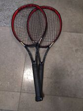2 USED PRINCE TEXTREME BEAST 98 TENNIS RACQUET (4 3/8)