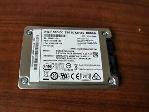 "Intel DC S3610 800GB 1.8"" 3.3V MicroSATA SSD - SSDSC1BG800G4"