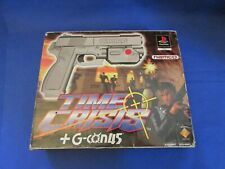 PlayStation PS1 PSX Time crisis G con Gun Boxed complete PAL game