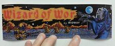 Wizard of Wor arcade sticker. 3 x 10. (Buy any 3 stickers, GET ONE FREE!)