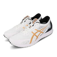 Asics Tartheredge White Gold Lightweight Mens Racing Running Shoes 1011A544-101