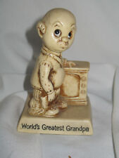 Vintage Worlds Greatest Grandpa Figurine Berries 1975 Fathers Day for Grandpa