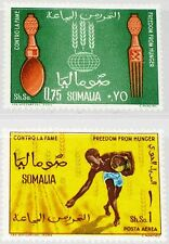 SOMALIA 1963 49-50 269 C89 Kampf gegen Hunger freedom from Hunger FAO Emblem MNH