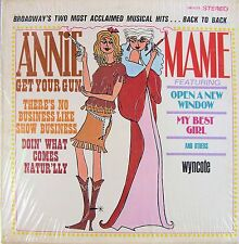 ANNIE GET YOUR GUN / MAME (SELECTIONS FROM) WYNCOTE RECORDS LP 1967 STEREO NICE!