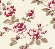 Tanya Whelan Petal Scattered Roses Ivory Home Décor Cotton Fabric - V. Large FQ