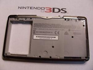 Nintendo 3DS  Housing Bottom inside Black Shell Repair Part  sd slot cover
