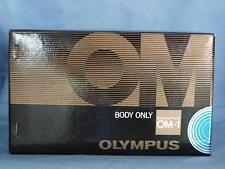 OLYMPUS OM-1 BLACK CAMERA BODY NEW IN BOX
