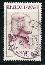 STAMP / TIMBRE FRANCE OBLITERE N° 1137 / CELEBRITE / MOZART