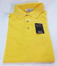 Feather lite men small polo shirt yellow