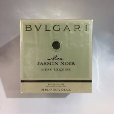 BVLGARI MON JASMIN NOIR L' Eau Exquise 75ml EDT Spray Women's Perfume(AUTHENTIC)