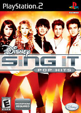 Disney Sing It: Pop Hits PS2 New Playstation 2