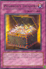 3x Pharaoh's Treasure - PGD-052 - Rare - Unlimited Edition YuGiOh NM PGD - Phara