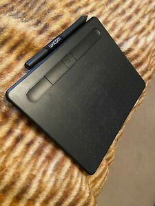 WacomIntuos S Wireless Drawing Graphics Tablet - Black Great for Students