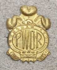 Canadian Army Badge:  Prince of Wales Own Regiment - brass