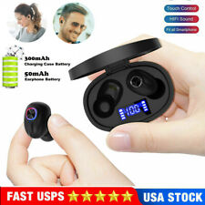 New listing Mini Wireless Bluetooth 5.0 Earphones Earbuds Stereo Sports Headphone Waterproof