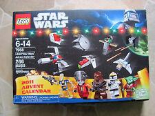 LEGO Adventskalender Star Wars 7958 v. 2011 mit Yoda Neu Die OVP ist beschädigt