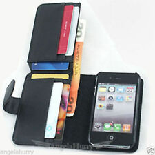 Plain Leather Cases, Covers and Skins for Apple iPhone 4s