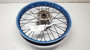 Rear Wheel 19 Inch Blue Crack Yamaha WR 450F 2003 YZ 125 250 450 #704