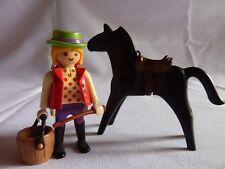 PLAYMOBIL animaux personnage accessoires ferme équitation écuyère et son cheval