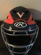 University of Virginia UVA Cavaliers Baseball Game Worn Rawlings Catchers Mask