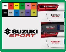 Para SUZUKI - 'Suzuki Sport' - COCHE DECAL STICKER 195mm X 50mm