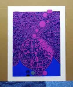 "RISABURO KIMURA""City 123""ORIGINAL SERIGRAPH SIGNED and A.P. JAPANESE ARTIST"
