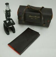 Vintage Sans & Streiffe Microscope No. 511 With Case and Dissection Kit