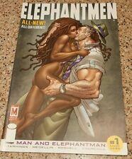 ELEPHANTMEN #1 MINT Man AND ELEPHANTMAN Image Comics