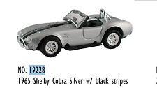 19228 Voiture miniature métal Shelby Cobra Coupe decor train HO 1/87