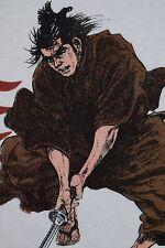 1987 LONE WOLF and CUB veg 80s manga comic SHOGUN ASSASSIN movie wu tang t-shirt