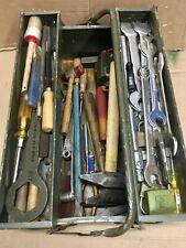 Werkzeugkiste mit Werkzeug ,gebraucht ex BW,Bundeswehr,Schlosser,Mechaniker etc.