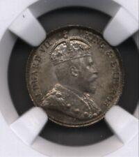 BRITISH Hong Kong 1905 H 5 Cents silver COIN NGC MS 66 rare in this grade