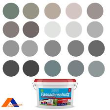 Fassadenfarbe, Aussenfarbe, grau, schwarz, dunkelgrau, braun , weiß, RAL