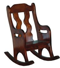 Children's Furniture and Toys - Child's Oak Rocker - Amish Made in USA