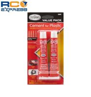 Testors Cement Value Pack (2) 7/8 Fl Oz Tubes TES3509C