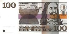 Netherlands 100 gulden 1970 UNC (de Ruyter)
