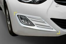 New Chrome Fog Light Cover Molding Trim K020 for Hyundai Elantra 2011 - 2013