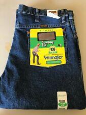 NWT Wrangler 33-38 Slim Fit Cowboy Cut, 936GBK