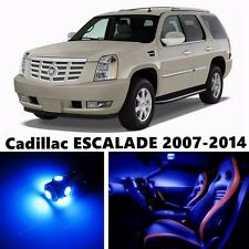 18pcs LED Blue Light Interior Package Kit for  Cadillac ESCALADE 2007-2014
