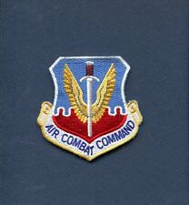 Original ACC AIR COMBAT COMMAND USAF AIR FORCE Squadron Hat Jacket Patch